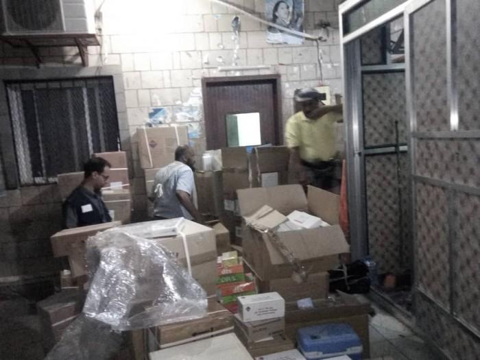 أدوية من الهجرة الدولية لمركز الأمومة بردفان