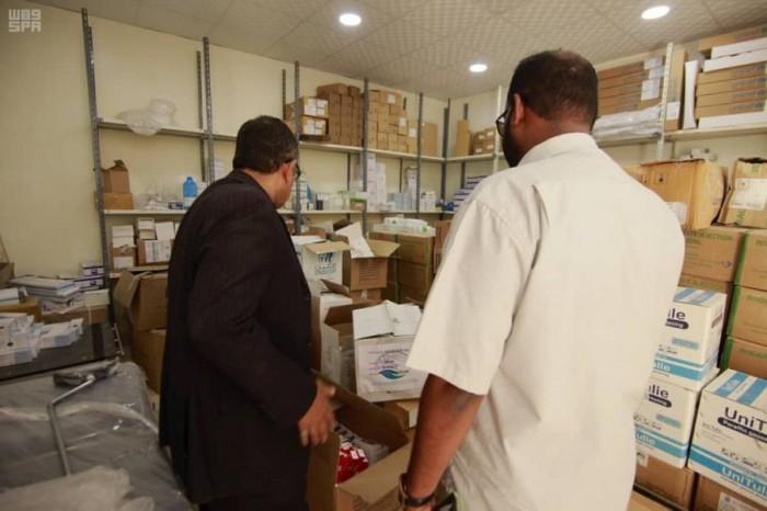 35 طن مستلزمات طبية من مركز الملك سلمان لمستشفى تريم