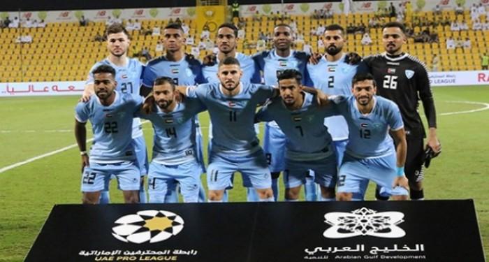 حتا يحصد نقاط مباراته أمام الفجيرة بالدوري الإماراتي