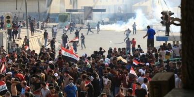 الأمن العراقي يطلق أعيرة نارية لتفريق متظاهرين بالبصرة