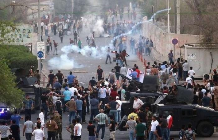 مجددًا.. مقتل 4 متظاهرين عراقيين خلال اشتباكات بالبصرة