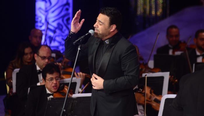 عاصي الحلاني يتألق بحفل مهرجان الموسيقى العربية (صور)