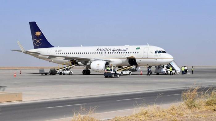 الخطوط السعودية تنفي تسييرها رحلات جوية إلى عدن