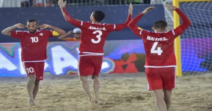 """""""أبيض الشواطئ"""" يتوج ببرونزية كأس القارات بالفوز على روسيا"""