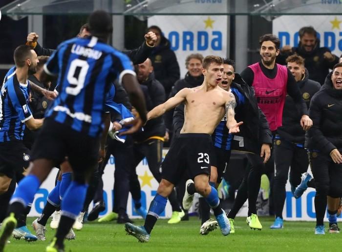 إنتر ميلان يقلب تأخره أمام فيرونا إلى فوز ويتصدر الدوري الإيطالي مؤقتا