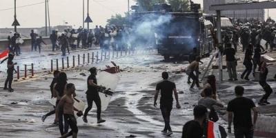 ارتفاع عدد ضحايا الاحتجاجات بالعراق إلى 319 قتيلًا