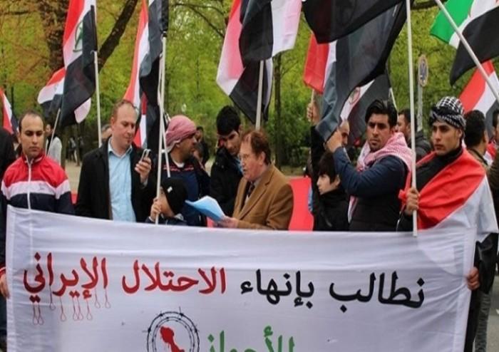 احتجاجات في الأحواز عقب اغتيال مليشيا الحرس الثوري شاعرًا عربيًا