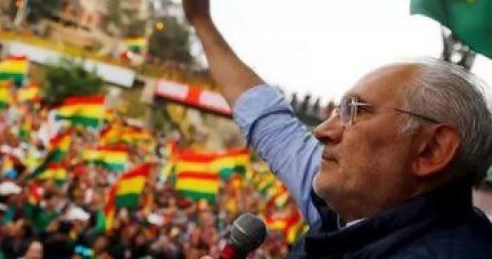 زعيم المعارضة البوليفية واصفًا استقالة موراليس: نهاية الطغيان