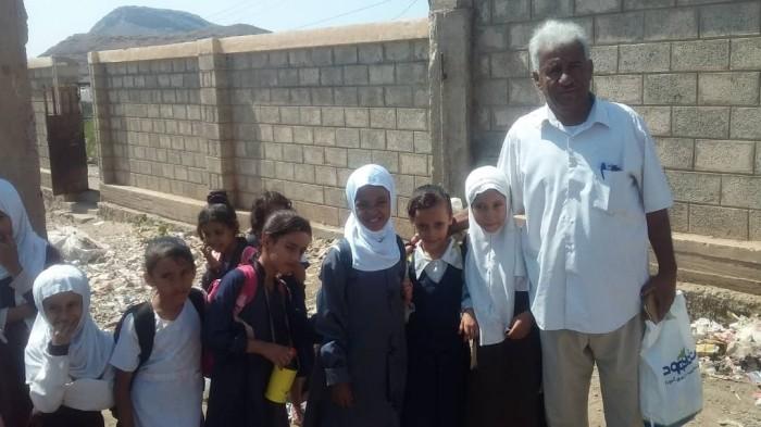 صندوق نظافة ردفان ينفذ حملة توعية في مدرسة الصمود