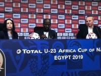 مدرب غانا يهنئ المنتخب الأوليمبي المصري بعد التأهل لنصف نهائي أمم إفريقيا