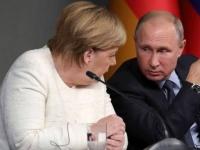 """الكرملين: بوتين وميركل اتفقا على ضرورة منح أوكرانيا """"دونباس"""" وضعًا خاصًا"""
