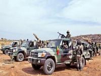 الجيش المالي يشن هجومًا واسعًا  على المتطرفين في البلاد