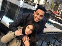 محمد أسامة يبعث هذه الرسالة لزوجته في عيد ميلادها