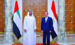 تعرف على جدول أعمال السيسي في أبوظبي ولقاءه بالشيخ محمد بن زايد