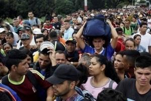 أمريكا تتوقع تكليف مهاجري فنزويلا الدول المضيفة 1.35 مليار دولار