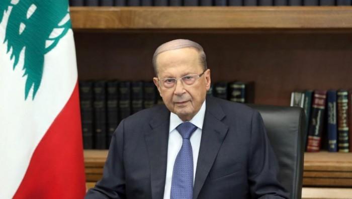 الرئيس اللبناني: نأمل في ولادة حكومة جديدة تعبر عن مطالب المحتجين