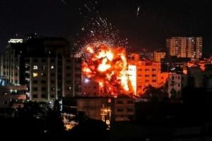 عاجل.. مقاتلات إسرائيلية تقصف مواقع لحركة الجهاد الإسلامي بغزة