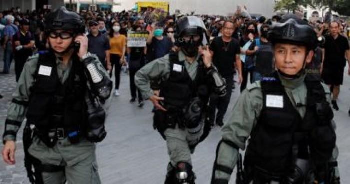 هونج كونج تدين الهجوم على وزيرة العدل أثناء زيارتها لندن