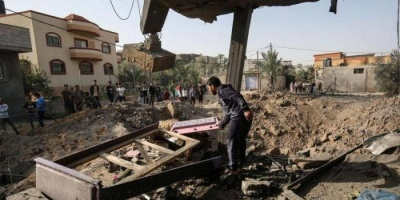 إصابة فلسطينيين جراء قصف إسرائيلي استهدف مواقع لحركة الجهاد بغزة
