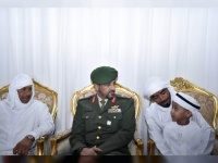 قائد القوات البرية الإماراتية يعزي في البلوشي ويعلق على استشهاده
