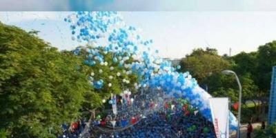 """٢٠ ألف شخصا بدبي يشاركون في مسيرة """"حارب السكري"""""""