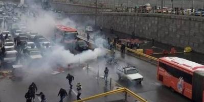 مسؤول إيراني يعترف بإطلاق الرصاص الحي على المتظاهرين