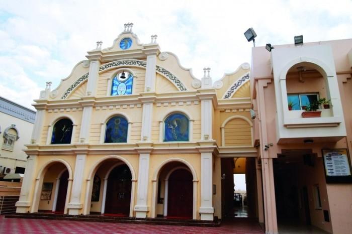 احتفال باليوم العالمي للتسامح في كنيسة القديسة مريم بالإمارات