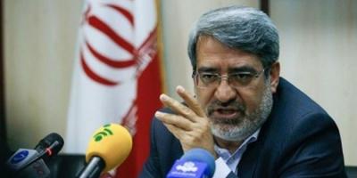 وزير الداخلية الإيراني مهددًا المحتجين: قوات الأمن ستتحرك لاستعادة الهدوء