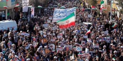 شاهد.. مقطعًا مصورًا لمظاهرات جديدة للشعب الإيراني في أبوشهر