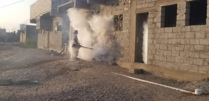 حملة رش ضبابي لمكافحة حمى الضنك في الحوطة