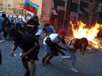 الرئيس التشيلي يدين انتهاكات الشرطة مع المتظاهرين