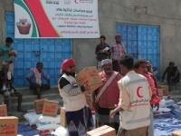 900 سلة غذائية من الإمارات للأسر المحتاجة بحضرموت (صور)