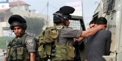 قوات الاحتلال الإسرائيلى تعتقل 10 فلسطينيين من الضفة الغربية