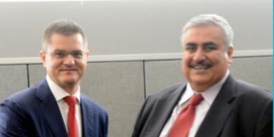 وزير الخارجية البحريني يجتمع مع نظيره الصربى لبحث العلاقات الثنائية بين البلدين