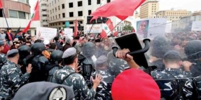 انتشار مكثف لقوات الأمن وسط بيروت والبنوك تفتح أبوابها