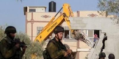 قوات الاحتلال الإسرائيلى تهدم منزلا بجبل المكبر بالقدس المحتلة