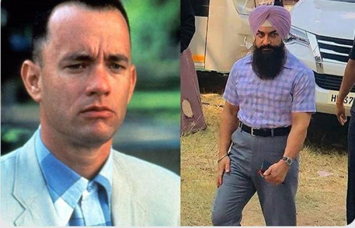 عامر خان يجسد النسخة الهندية لفيلم Forrest Gump لتوم هانكس