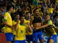 """بعد سلسلة هزائم مدوية.. """"البرازيل"""" تستعيد الانتصارات في ودية أبو ظبي"""