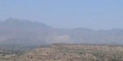 مصرع وإصابة عدد من عناصر مليشيات الحوثي شمالي الضالع