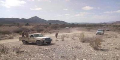 انفجار عنيف باتجاه معسكر لمليشيا الإخوان في أبين
