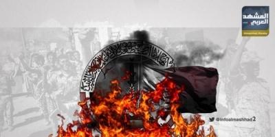 """""""اشتباكات معسكر عكد"""".. تمرد إخواني على اتفاق الرياض"""