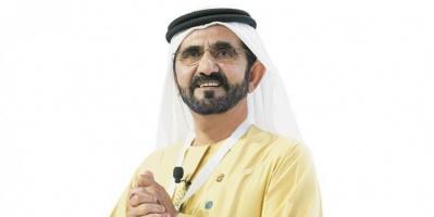 """""""بن راشد"""" يصدر قانون مركز دبي المالي العالمي للملكية الفكرية"""