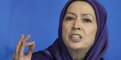 """مريم رجوي: انتفاضة الشعب الإيراني تسعى لإسقاط """"ولاية الفقيه"""""""