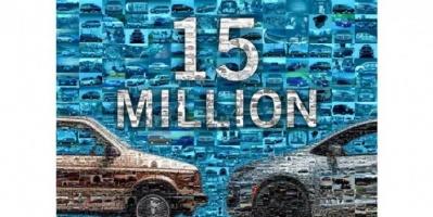 """""""فيات كرايسلر"""" تحتفل بطرح 15 مليون سيارة من فئة mini – van"""