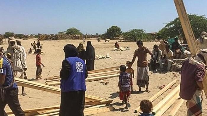 """""""الهجرة الدولية"""": توزيع 419 حقيبة مأوى في أبين ولحج"""