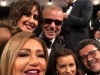 """على طريقة الأوسكار..شريف منير بصحبة نجوم الفن في """"سيلفي"""" القاهرة السينمائي"""