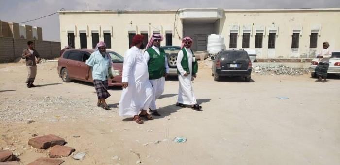 وفد من البرنامج السعودي يتفقد بعض المشروعات بحصوين (صور)