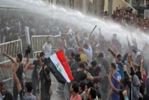 سقوط 14 قتيلا من المتظاهرين العراقيين خلال تفريق قوات الأمن لتظاهرات