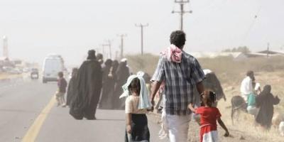 """ارتفاع ملحوظ في النزوح.. المليشيات تستهدف """"الإنسانية"""""""