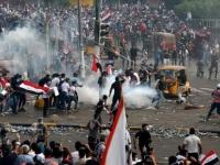 مقتل 3 متظاهرين وإصابة 25 آخرين فى احتجاجات العراق